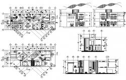House Design Drawing CAD File Download