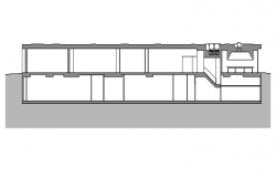 House Design Elevation dwg file