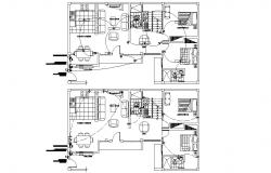 House Electrical Wiring  Layout Plan