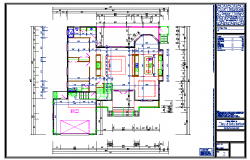 House Floor Plan Lay-out detail