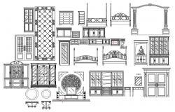 House Furniture Cad Blocks