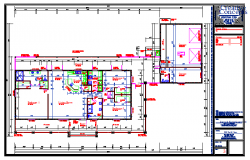House Lay-out plan drawing