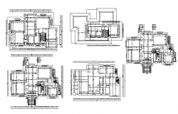 House Line & Architecture Plan Lay-out