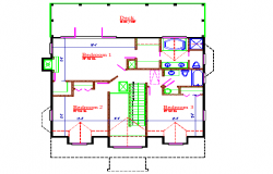 House PLan Lay-out Detail