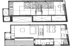 House Plan and Architecture Design dwg file