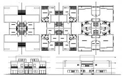 House Plans Drawing Samples CAD File