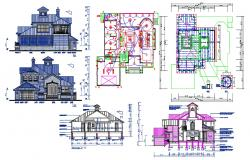 House Project Architecture Drawing Download