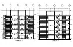 House Section Plan