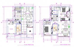 House cad plan drawing