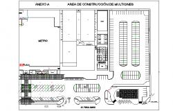 House culture metro rail detail dwg file