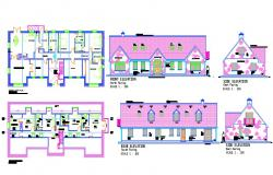 House drawings type A