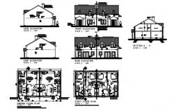 House drawings type B