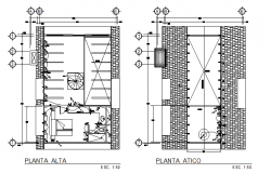 House electric details dwg file