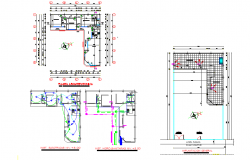House hold cloths plan layout file