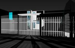 House in 3 d max file