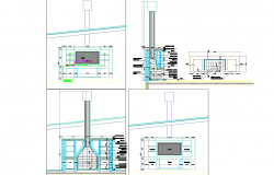 House internal detail cad files.