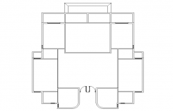House plan Lay-out