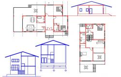 House plan and elevation