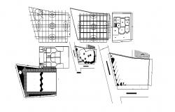 House design plans in AutoCAD file