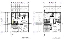 House plan detail layout file
