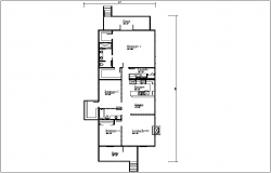 House plan dwg file
