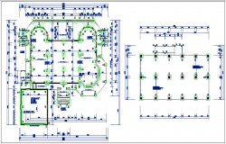 House plan view working plan details dwg file