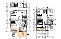 House planning detail layout file