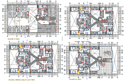 House planning working detail dwg file