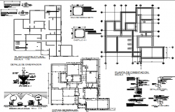House room architectural plan