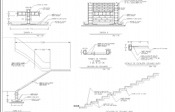 House spit level plan dwg detail.,