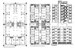 Housing Apartments Download CAD File