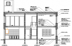 Housing detail dwg file