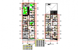 Housing plan auotcad file