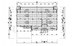 Housing terrace plan detail elevation layout autocad file