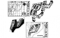 Hybrid building-tumbesecuador dwg file