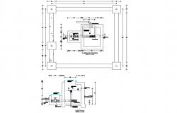 Hydraulic plane plan layout file