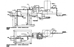 Hydro pneumatic system detail dwg file