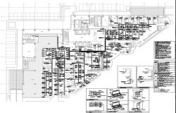 IP system layout of commercial building.