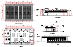 Improve mentand expansion of educational services autocad file