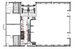 Industrial Building Layout AutoCAD Drawing Plan