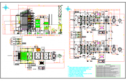 Industrial Gas Plant dwg file