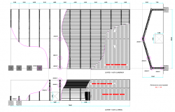 Industrial plan detail dwg file