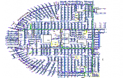 Industrial plant architecture layout plan details dwg file