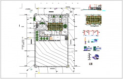 Industry detail view information dwg file