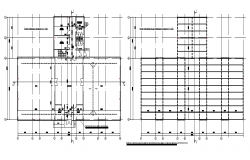 Installation layout plan dwg file