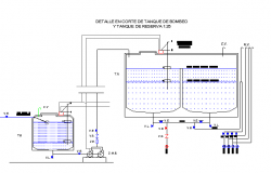 Installation of gas water sewer architecture project dwg file