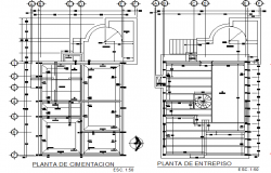 Installation unit detail plan
