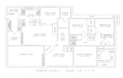 Interior House Lay-out