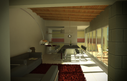 Interior project 3d detailing dwg file