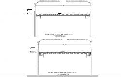 Internal axle gantry autocad file